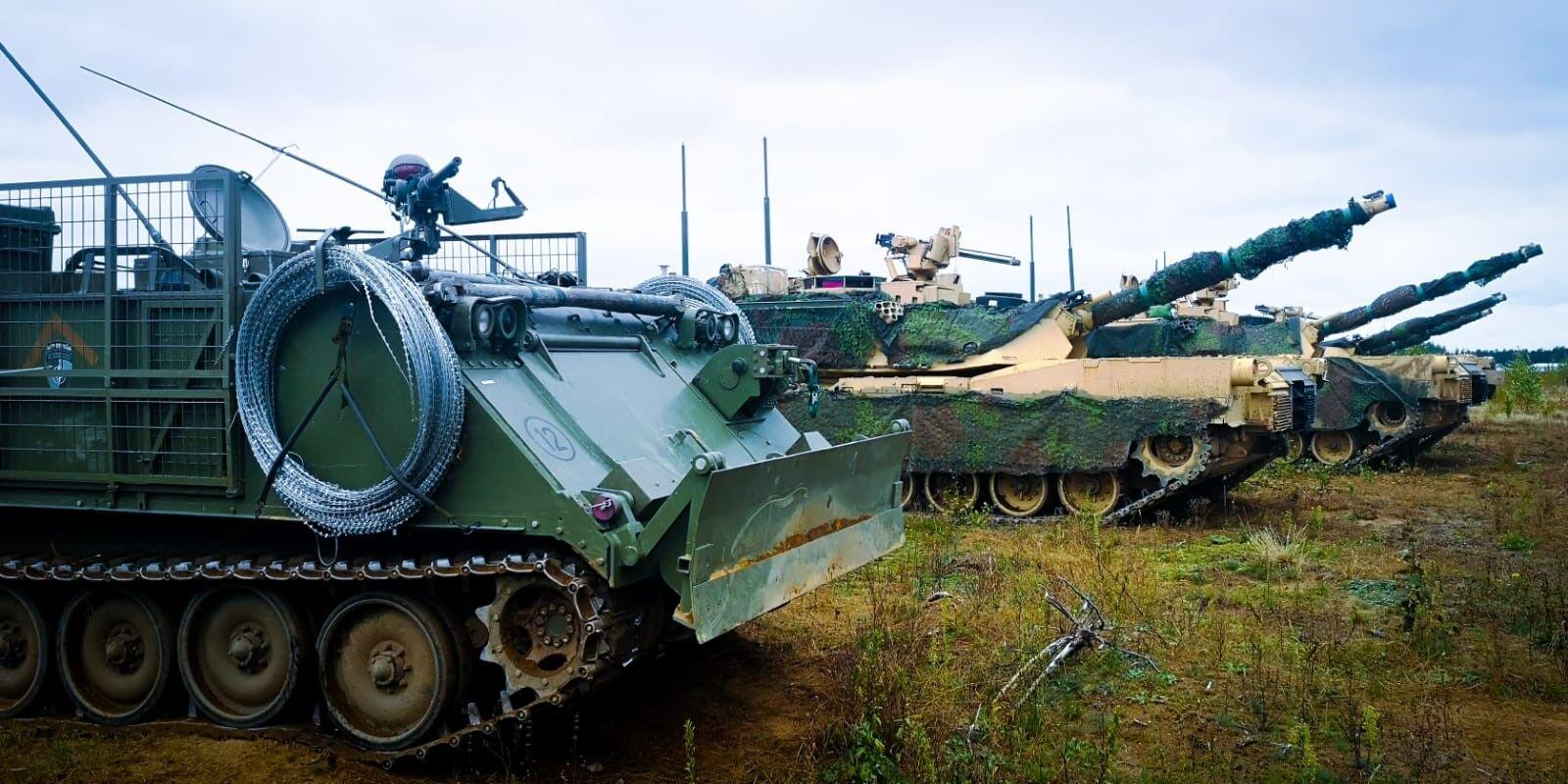 """北约在白俄边境附近搞""""铁狼""""演习 乌克兰士兵参加"""