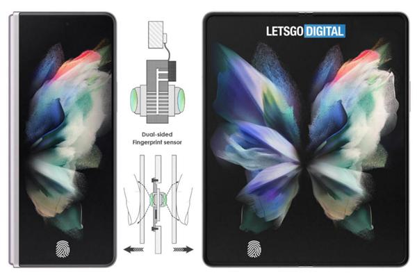 三星Galaxy Z Fold 4有望首发 双面屏幕指纹识别手机要来了