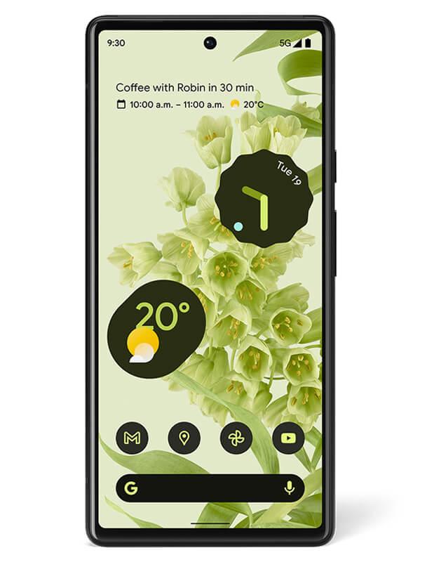 谷歌Pixel 6系列渲染图曝光:包括风暴黑、海泡绿、云白三配色
