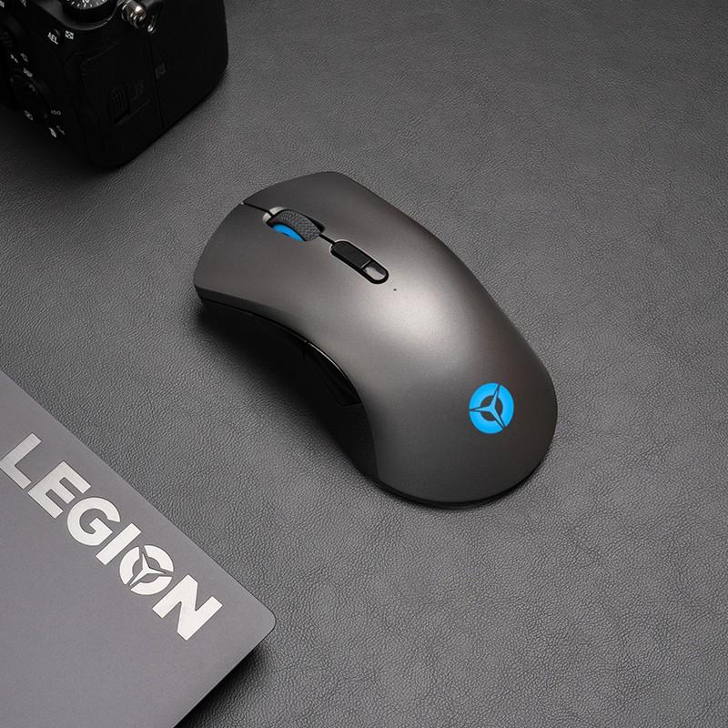 联想预热拯救者M500无线游戏鼠标:10000 DPI,对称设计