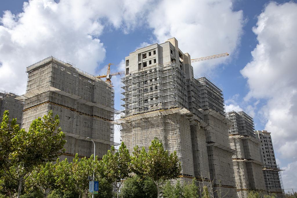 上海某在建楼盘。图源:视觉中国