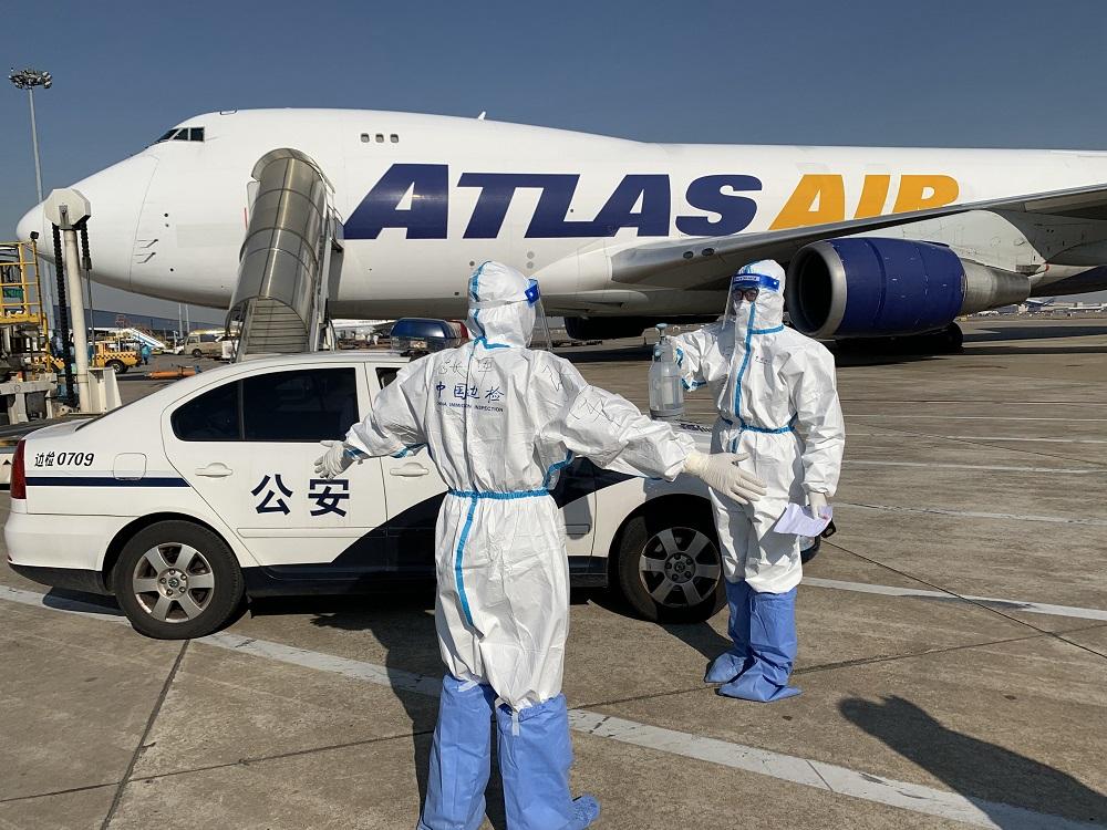 7万余架次、同比增长110%! 2020年浦东机场口岸出入境货机数量创新高图片