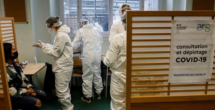 法国发现另一名变异新冠病毒感染者 此前曾停留南非