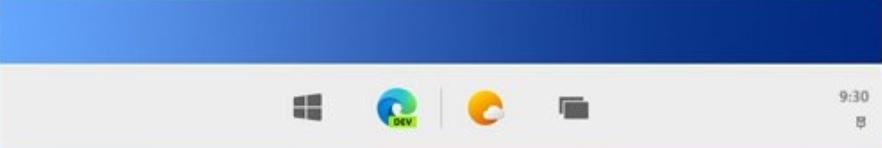 Windows 10X与Win10大不相同:任务栏图标默认居中