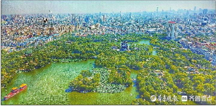 济南这座历史古城越来越有国际范儿。