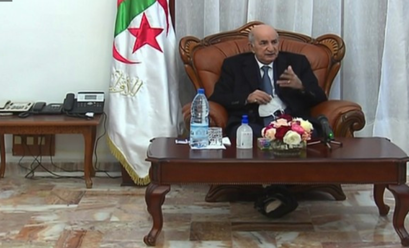 阿尔及利亚总统因新冠肺炎并发症再次赴德国治疗