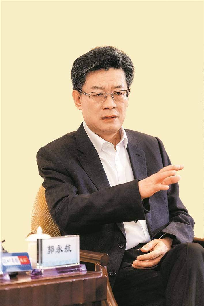 """珠海市委书记郭永航:""""二次创业""""再出发 更快更好""""新特区"""""""