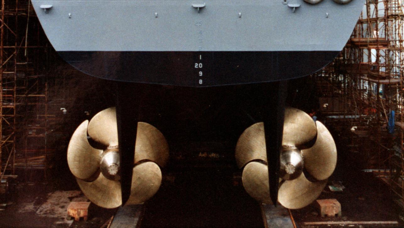 俄现代级驱逐舰前舰长盗走螺旋桨 还装了两个仿制品
