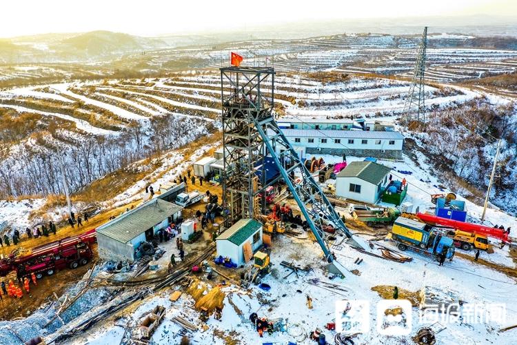 烟台栖霞金矿事故:钻孔机已钻80余米 将尽快打通生命通道