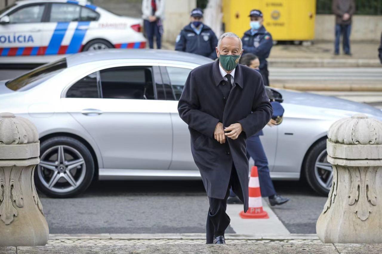 葡萄牙总统马塞洛-德-索萨新冠病毒检测阳性