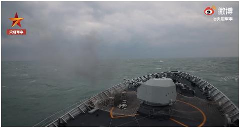 台媒:解放军在东海及福建南部沿海军演 有强烈针对性