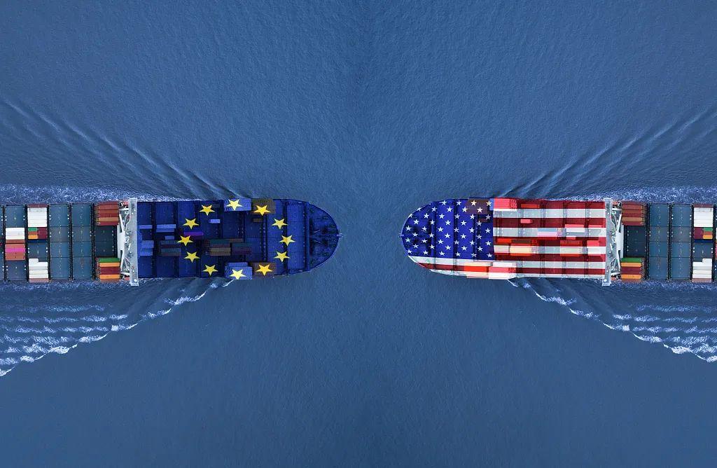 """开""""打""""!美国对法德商品加征关税"""