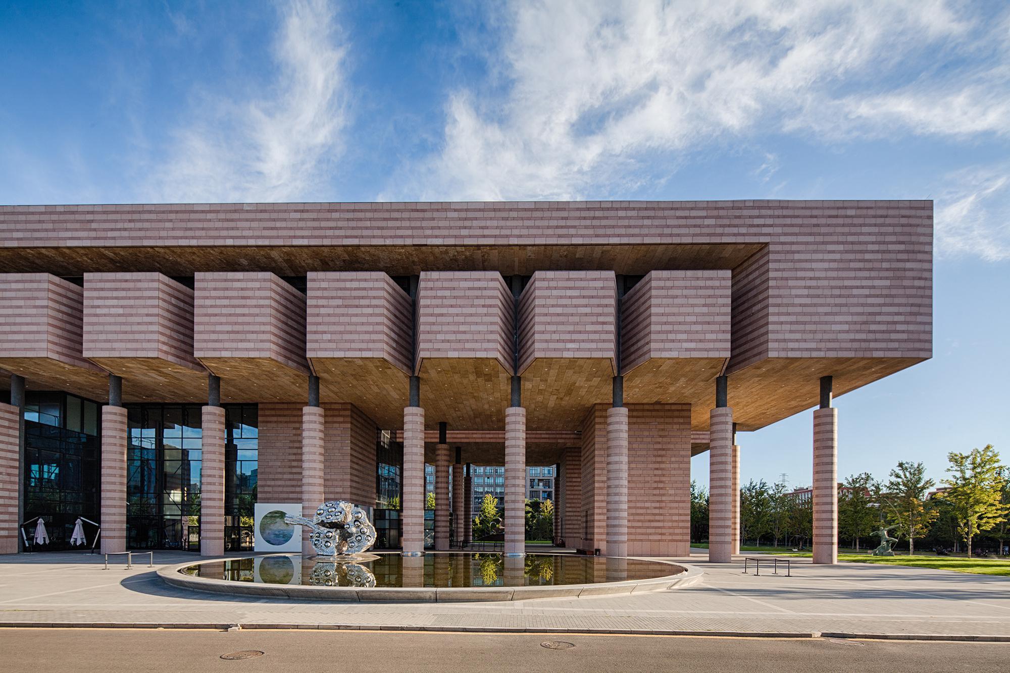 建筑设计院承担建筑设计的清华大学艺术博物馆被评为国家一级博物馆