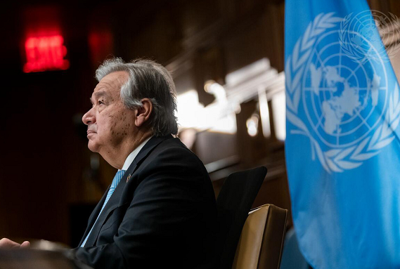 古特雷斯寻求联合国秘书长第二任期