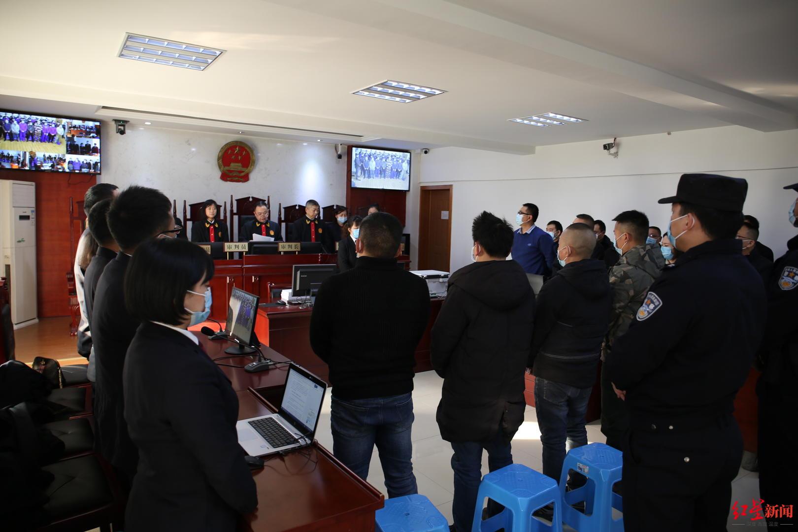 拉拢国家工作人员、在派出所外威胁被害人 四川广元一涉黑案主犯获刑20年图片