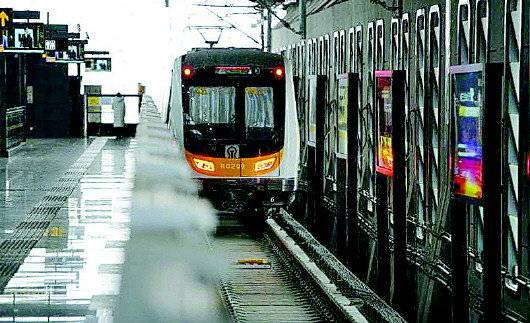 济南轨道交通2号线实现全自动驾驶。 齐鲁晚报·齐鲁壹点记者 王媛 摄