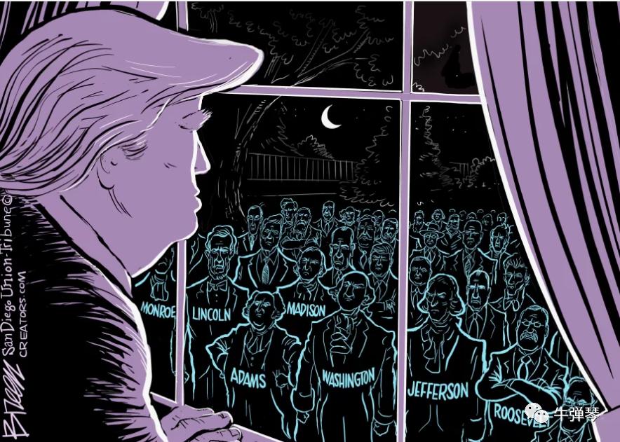 最敏感时刻美国又发生五件大事!特朗普撂下一句狠话