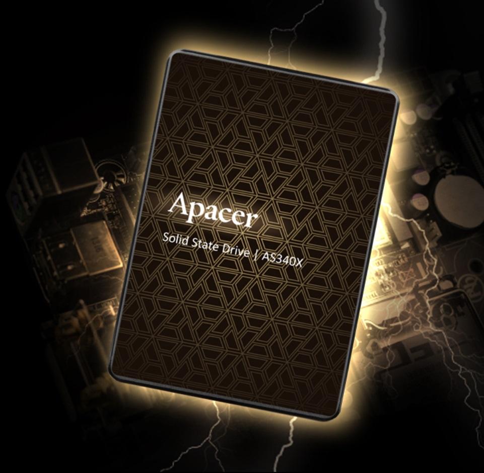 宇瞻发布AS340X/AS350X 2.5英寸固态硬盘