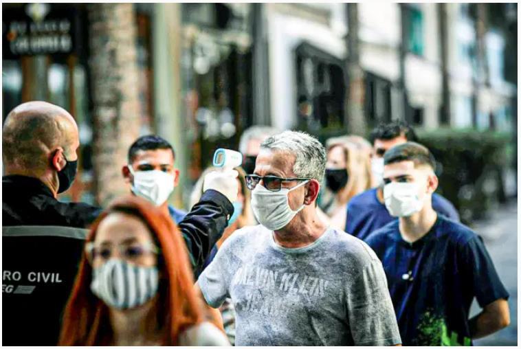巴西科研人员表示该国发现的新冠病毒变种传染性更强