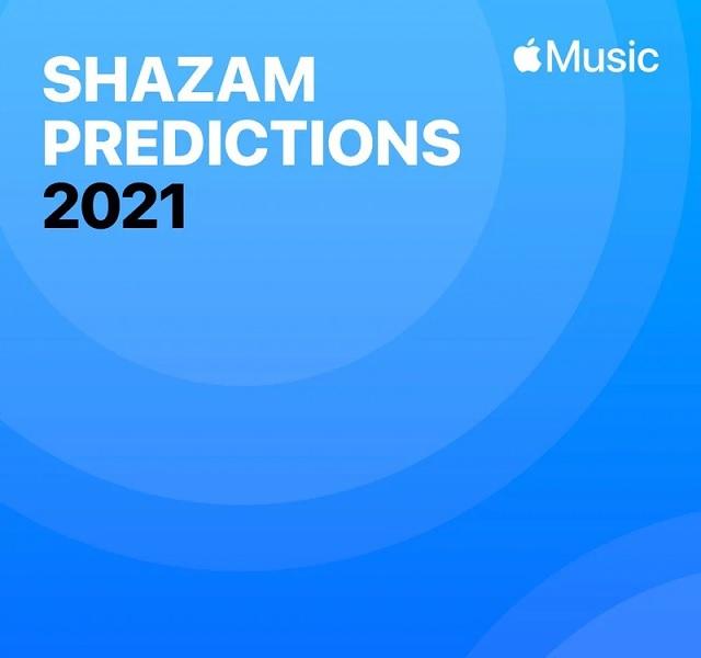 Apple Music旗下Shazam分享2021流行音乐预测