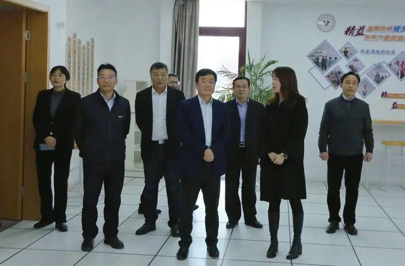 宁波市委常委、市委秘书长施惠芳一行到宁大科技学院调研图片
