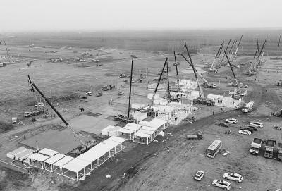 石家庄市集中隔离点工程项目加紧建设