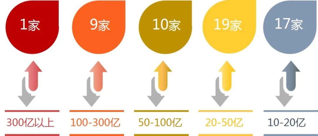 2020年深圳房地产企业销售业绩排行榜