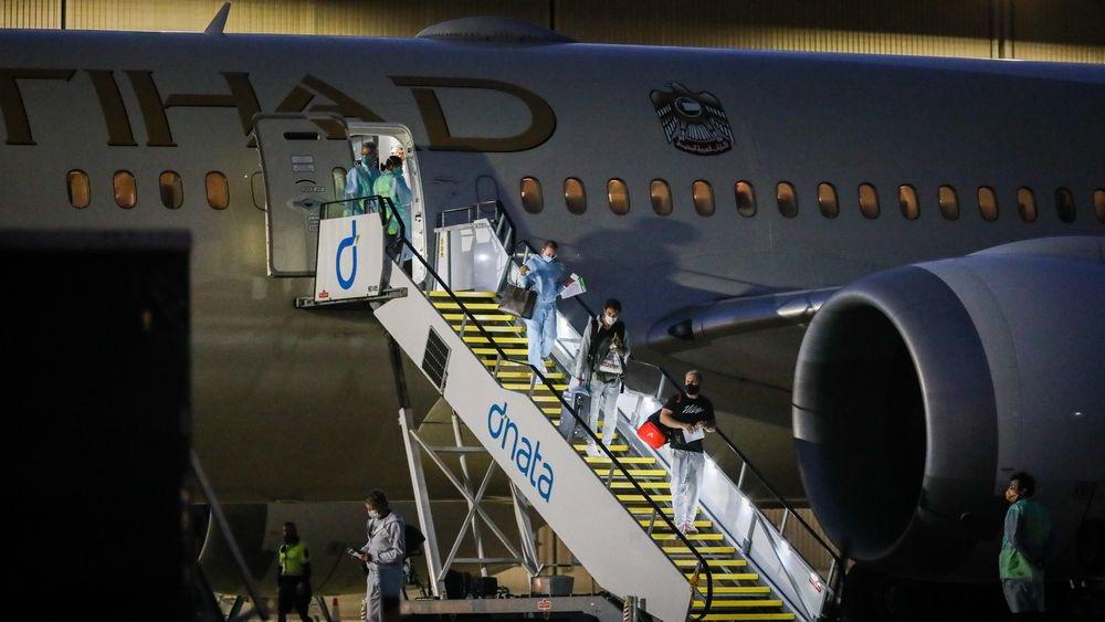 澳网包机又一乘客确诊新冠肺炎 累计确诊病例升至4例