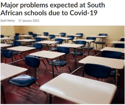 新冠疫情致南非学校辍学率飙升