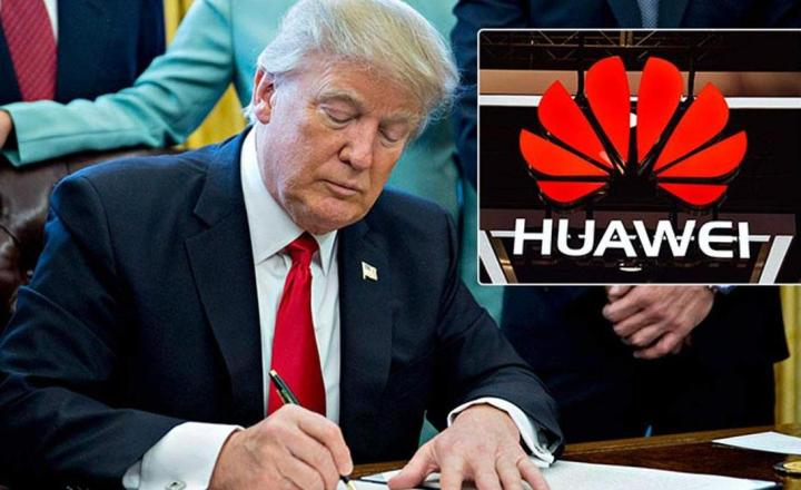 外媒:特朗普再度打压华为,四家公司八份华为供货许可证被吊销