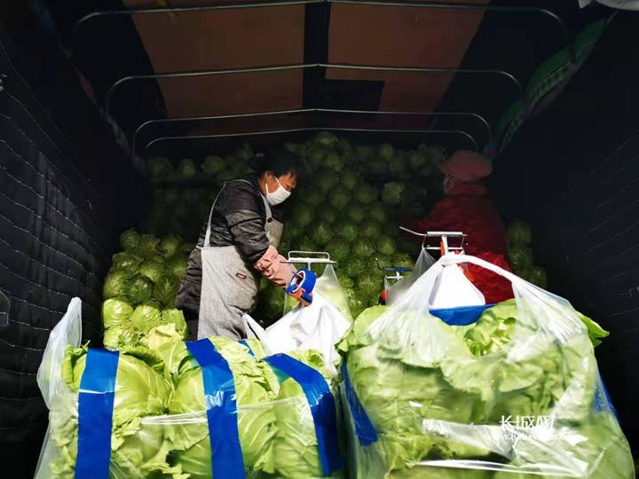 河北新发地:10天调配4000吨果蔬保供石家庄
