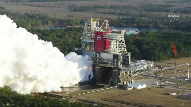 波音承制登月火箭首遇重大失败