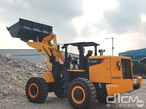 柳工ZL30E井下装载机助力迁西铁矿产能升级