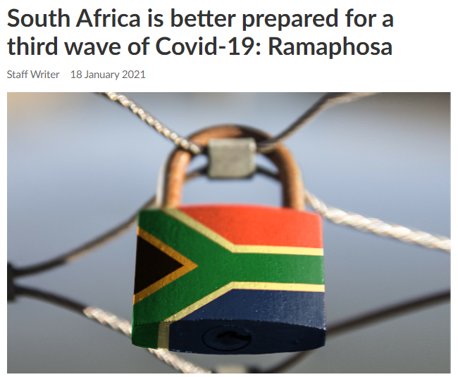 南非总统称该国已做好准备 应对疫情再次暴发