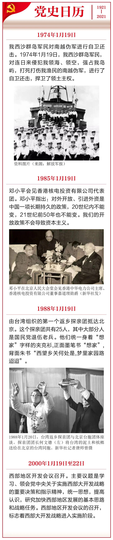百年荣光丨党史上的今天(1月19日)图片