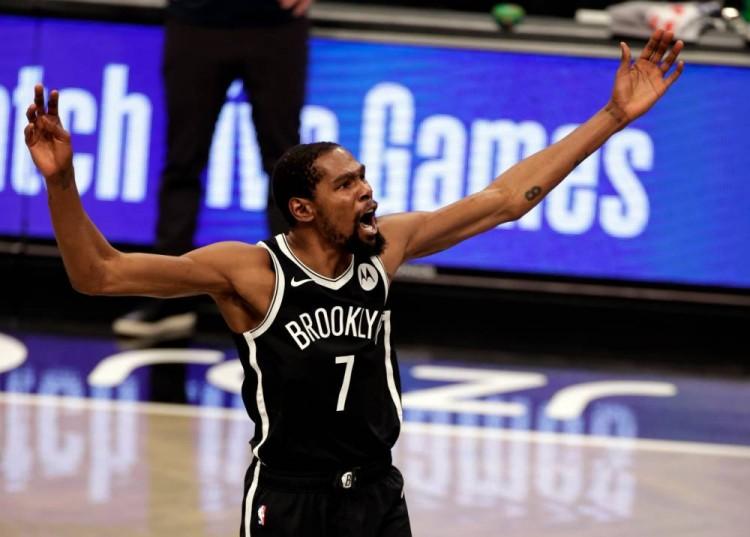 KD开季11场有9场25+且真实命中率超60% NBA第二人&比肩贾巴尔