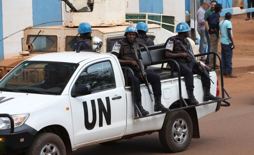 联合国秘书长谴责中非共和国两名维和人员遇袭事件