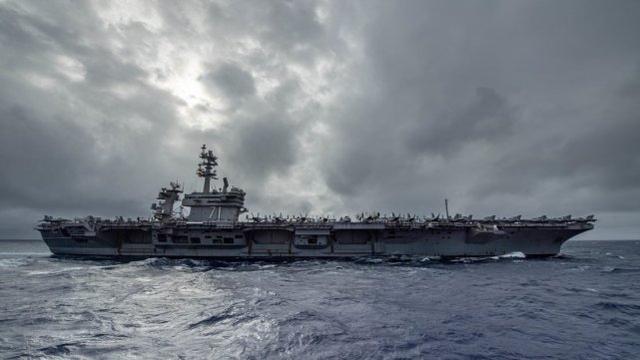 美罗斯福号航母群司令:中国海上力量明显提升,但并未更具侵略性