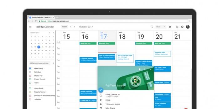 网页端Google Calendar新增离线查看功能