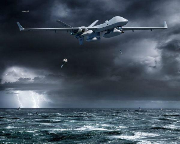 美海军首次试验无人机独立反潜
