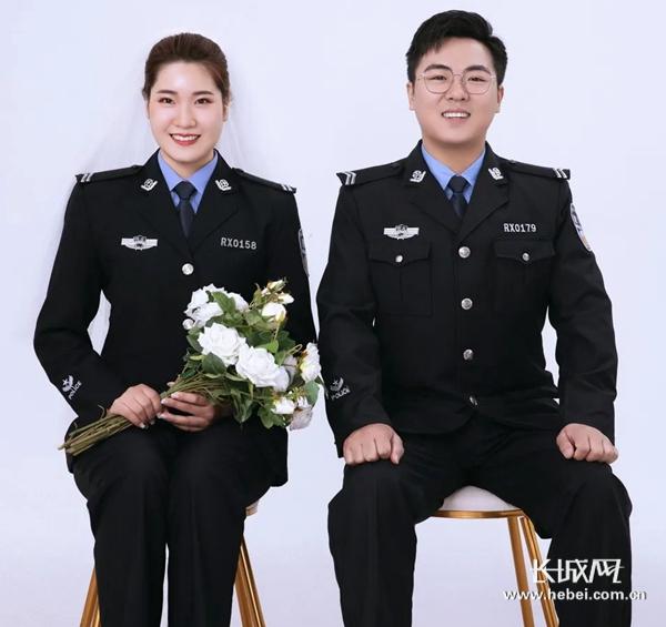 短视频 | 婚礼遇上疫情 婚纱遇上警服