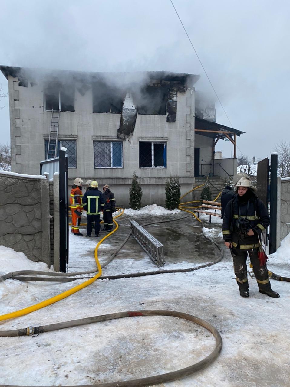 乌克兰一养老院发生火灾 15人丧生