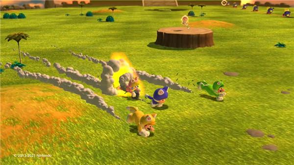 任天堂发布《超级马力欧3D世界+狂怒世界》新TVCM