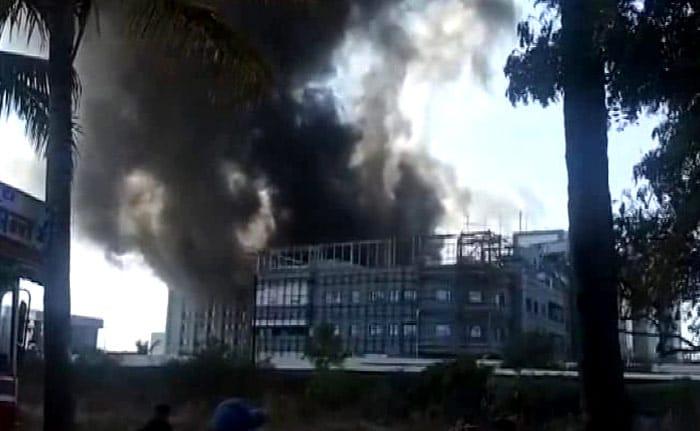 印度血清研究所火灾致5人死亡