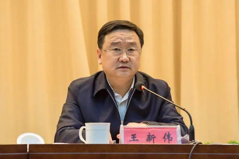 河南副省长王新伟,任沈阳代市长图片