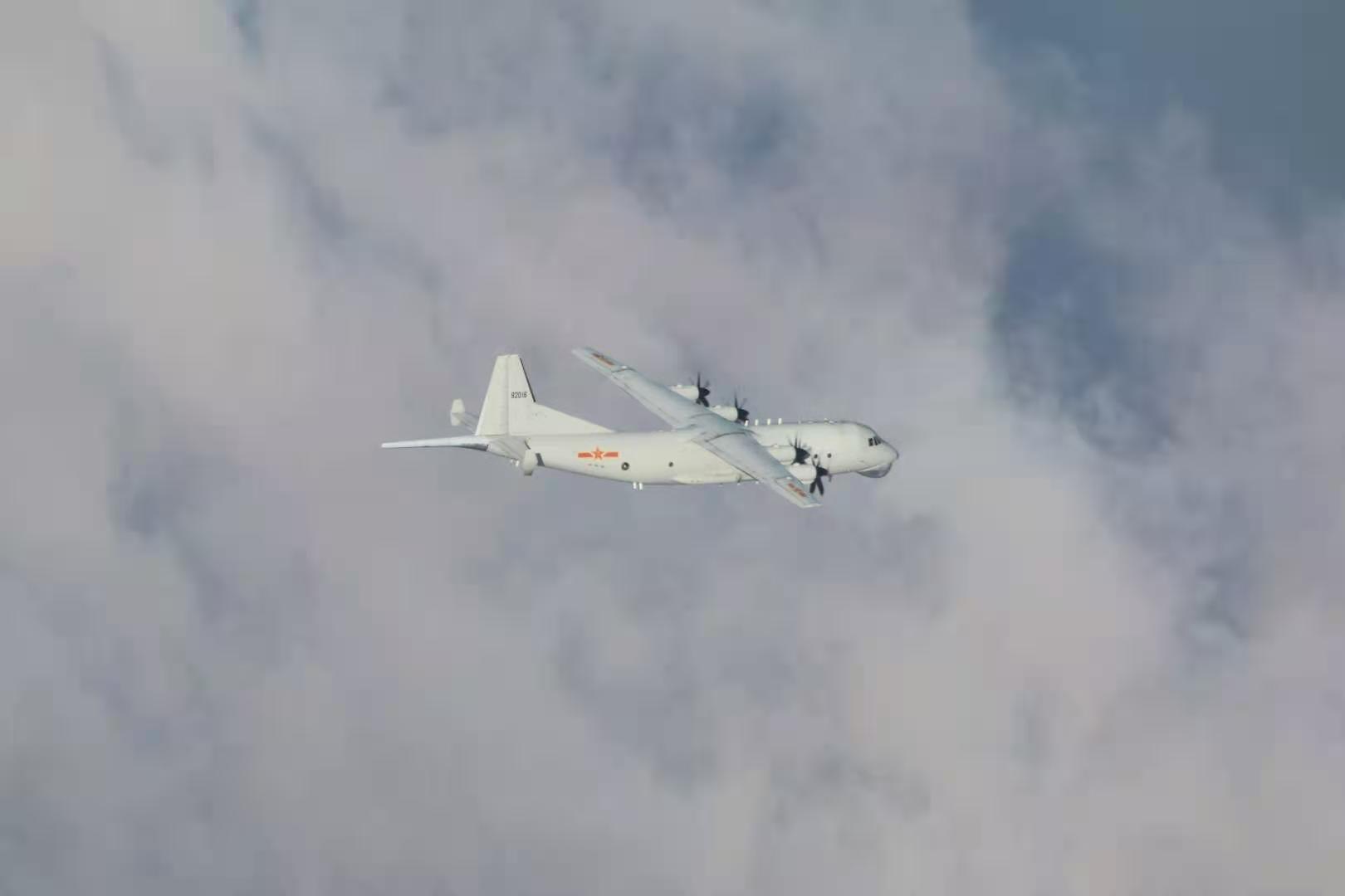 比昨天更多!台防务部门证实:15架次解放军军机今日进入台湾西南空域图片