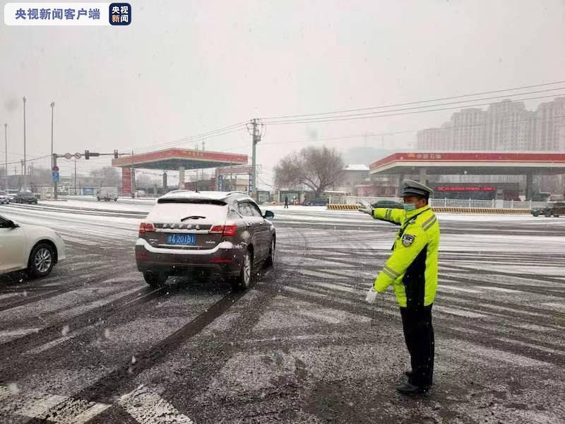 受降雪影响 甘肃省公安厅交管局发布临时交通管制通知