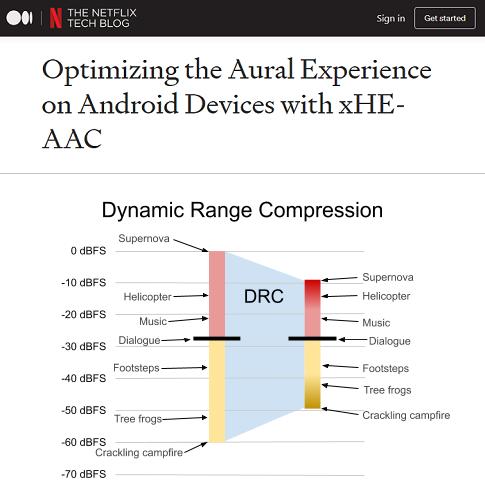 Netflix为Android客户端引入xHE-AAC编解码器 音频体验大提升