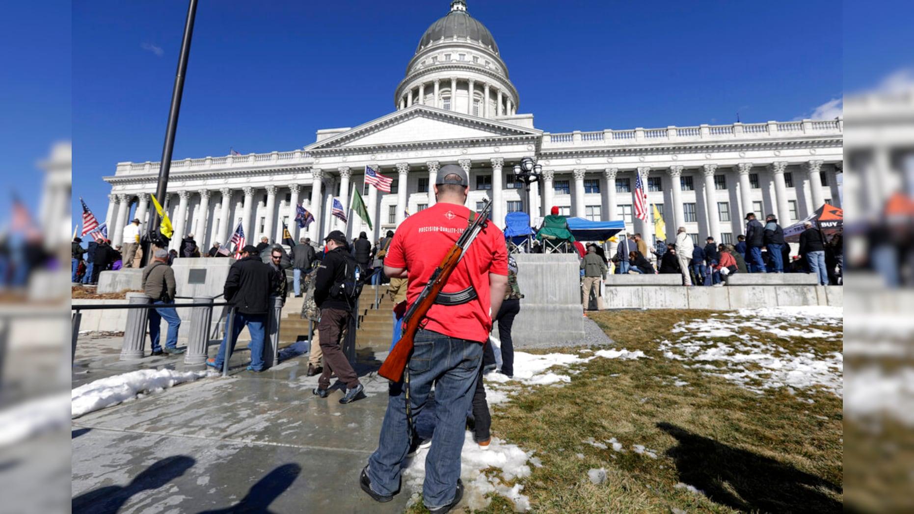 美国多州考虑放宽枪支限制 枪支管制倡导者:令人恐惧