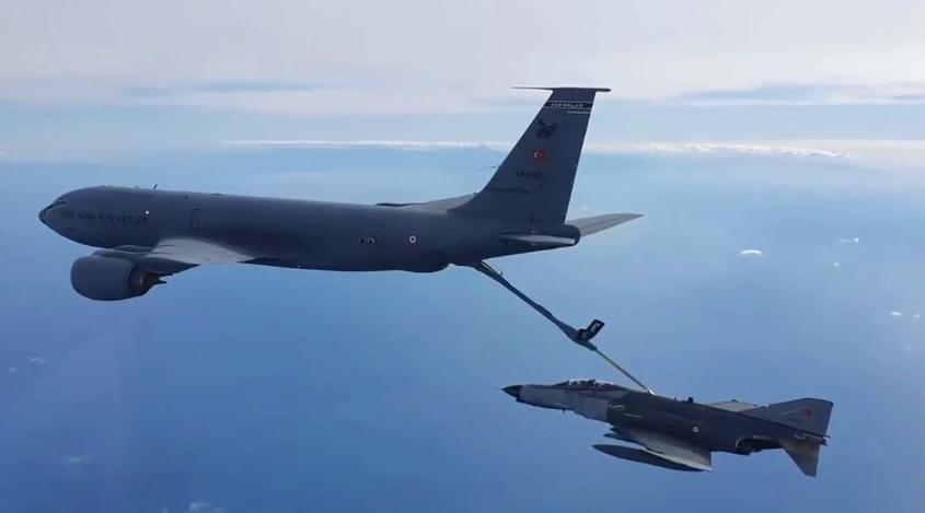 土耳其国防部:土军机前往东地中海执行训练任务